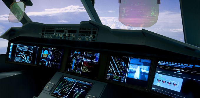 Qatar Airways selects dual HUD system option  for its new A350 XWB and A380 Airbus fleet