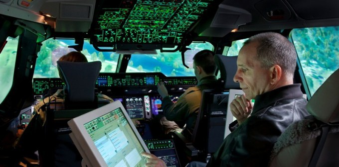 First Thales A400M Full Flight Simulator Ready for Training