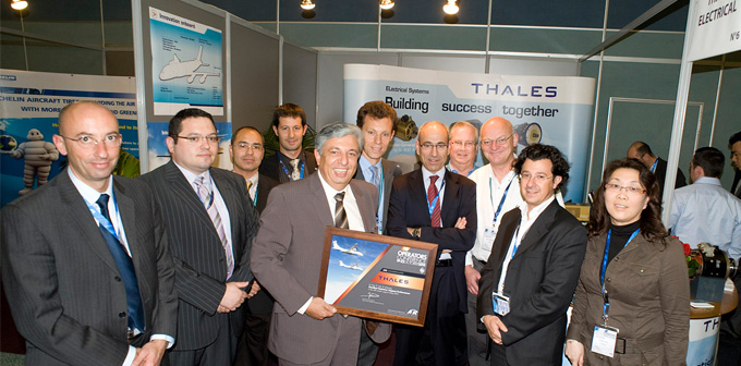 Thales's service rewarded in ATR, Airbus rankings
