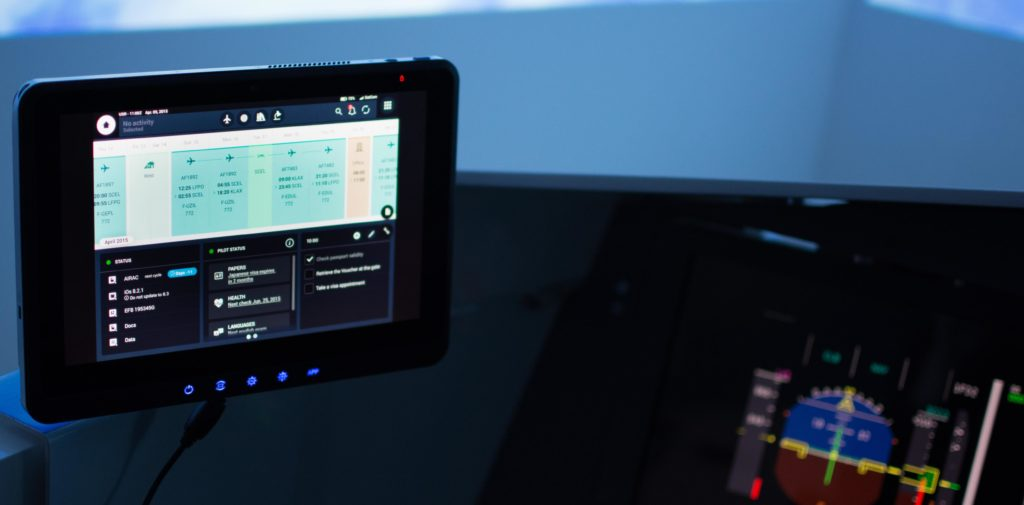 SATA goes paperless with Thales TopWings EFB
