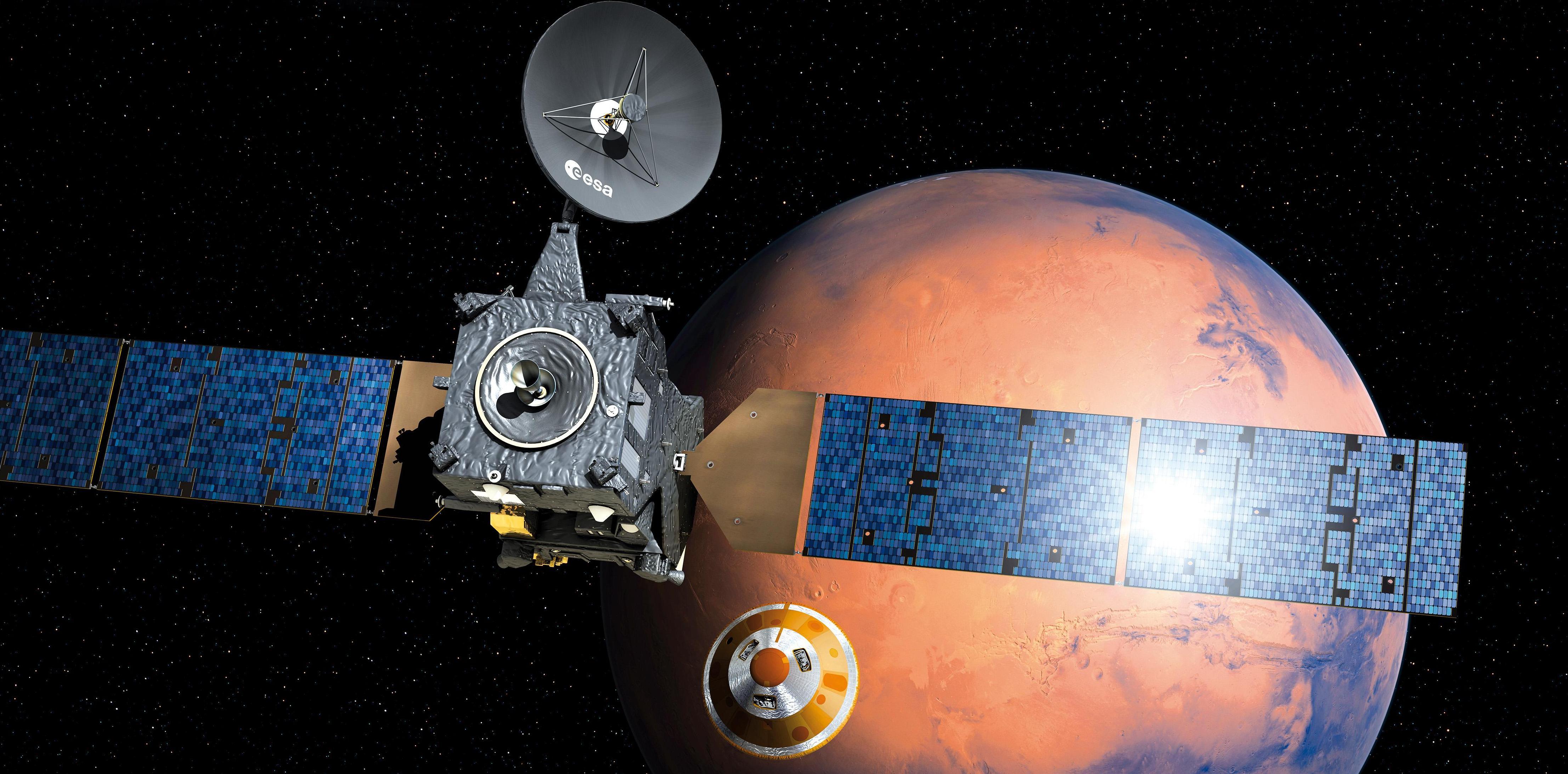 Motoring around Mars