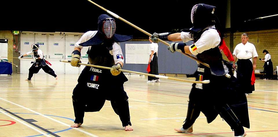 Sophie Schmitz, a world-class naginata-ka athlete