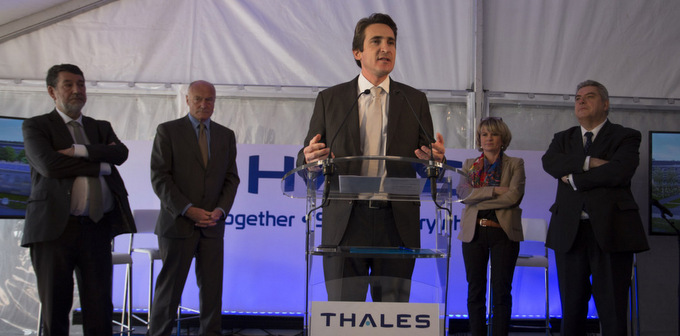Foundation stone of new Thales campus laid in Bordeaux
