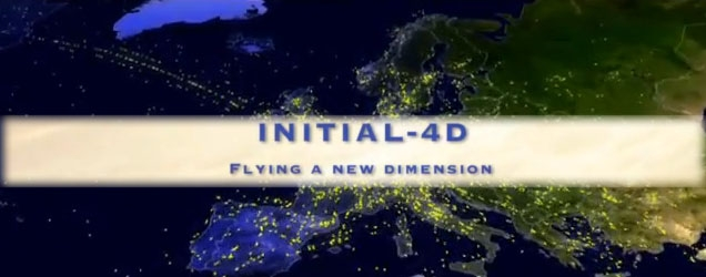 Thales, partnering the world-first initial four-dimensional (I4-D) flight by providing a combination of ground and airborne solutions
