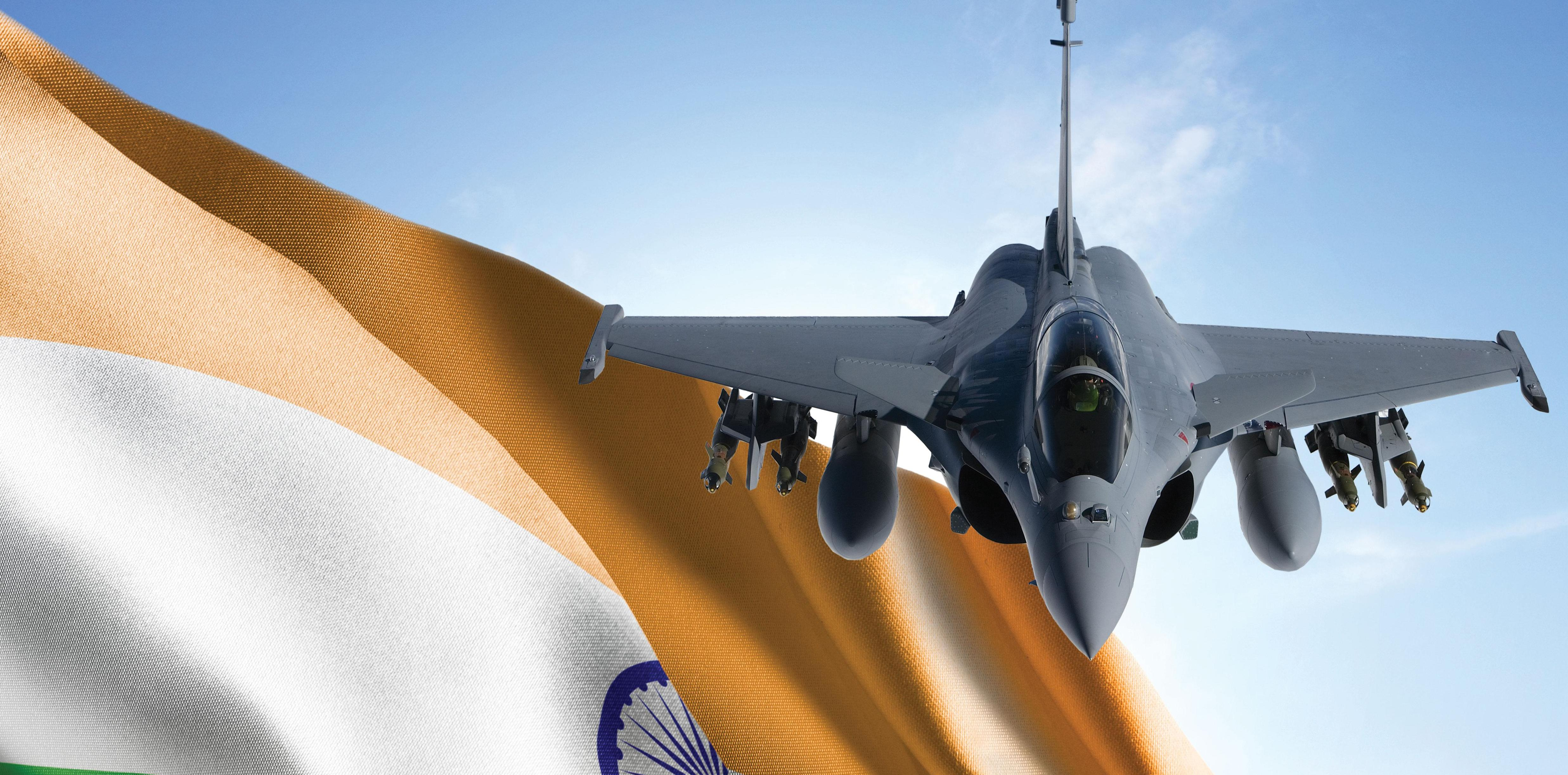 The Indian Air Force signs up for 36 Rafale aircraft