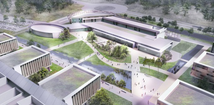 Thales building its factory of the future in the Bordeaux region