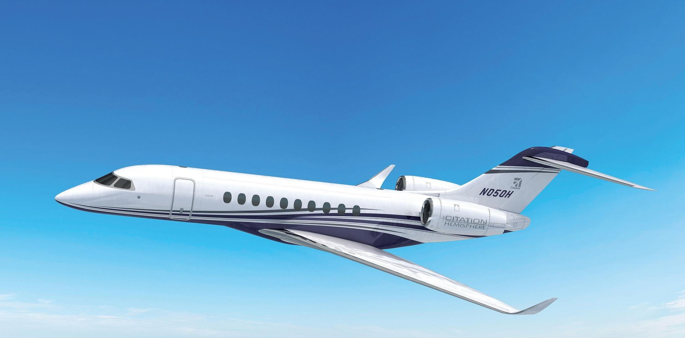 Thales will equip the new Cessna Citation Hemisphere with flight control electronics system
