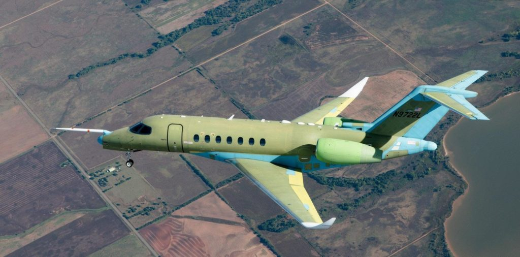 Thales-designed rudder-by-wire on Cessna citation Longitude's first flight
